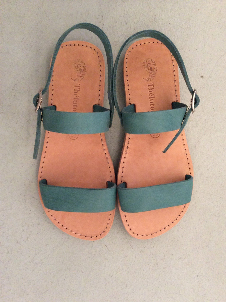 Mädchen, Girls - Theluto Sandalen For Kids Vert De Gris