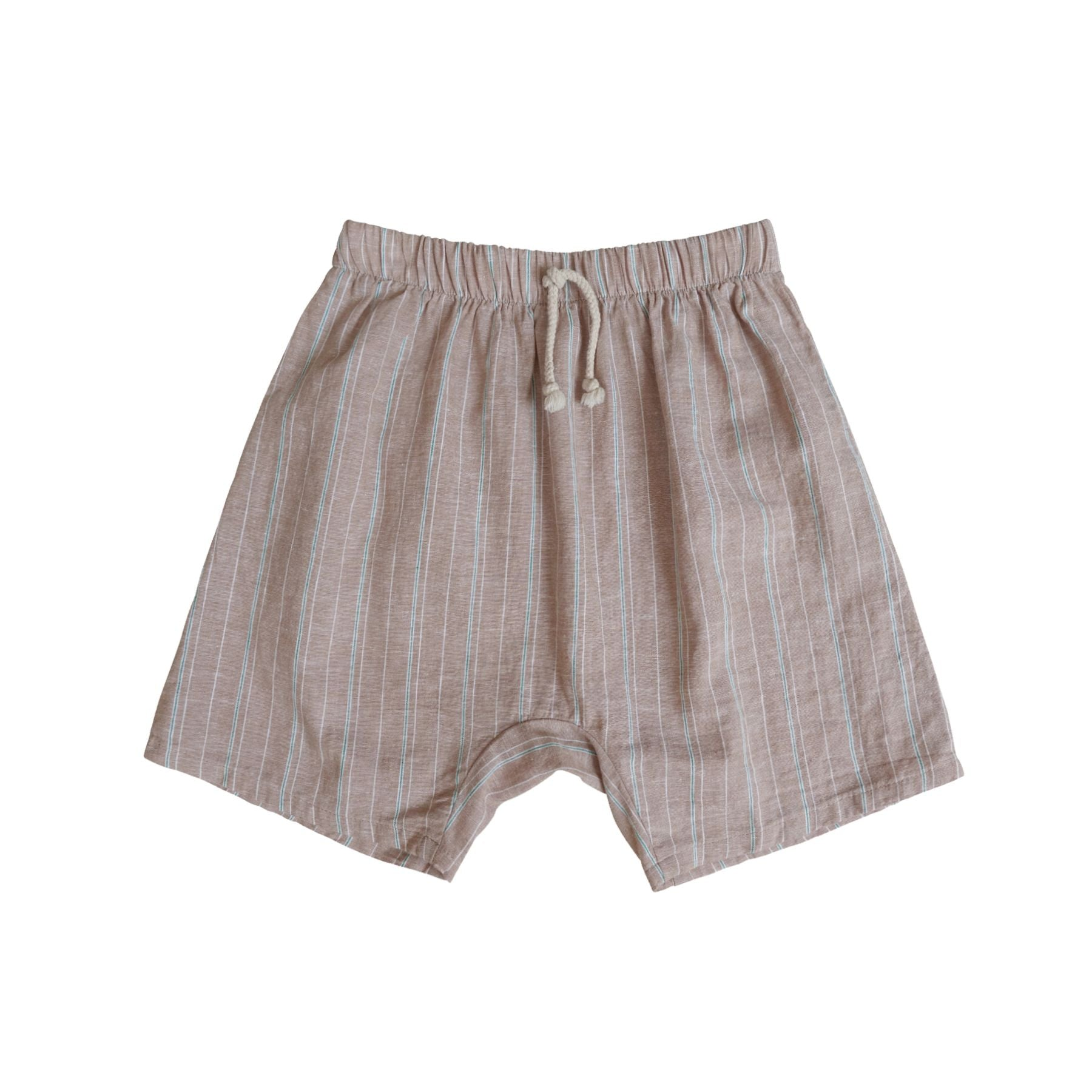 Oli Harem Short Khaki Stripes - Zirkuss