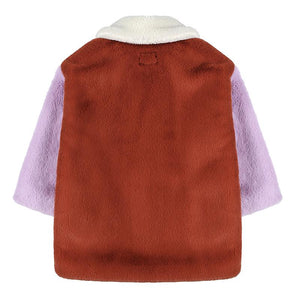 Coat Shearling Brown Jelly Mallow | Zirkuss