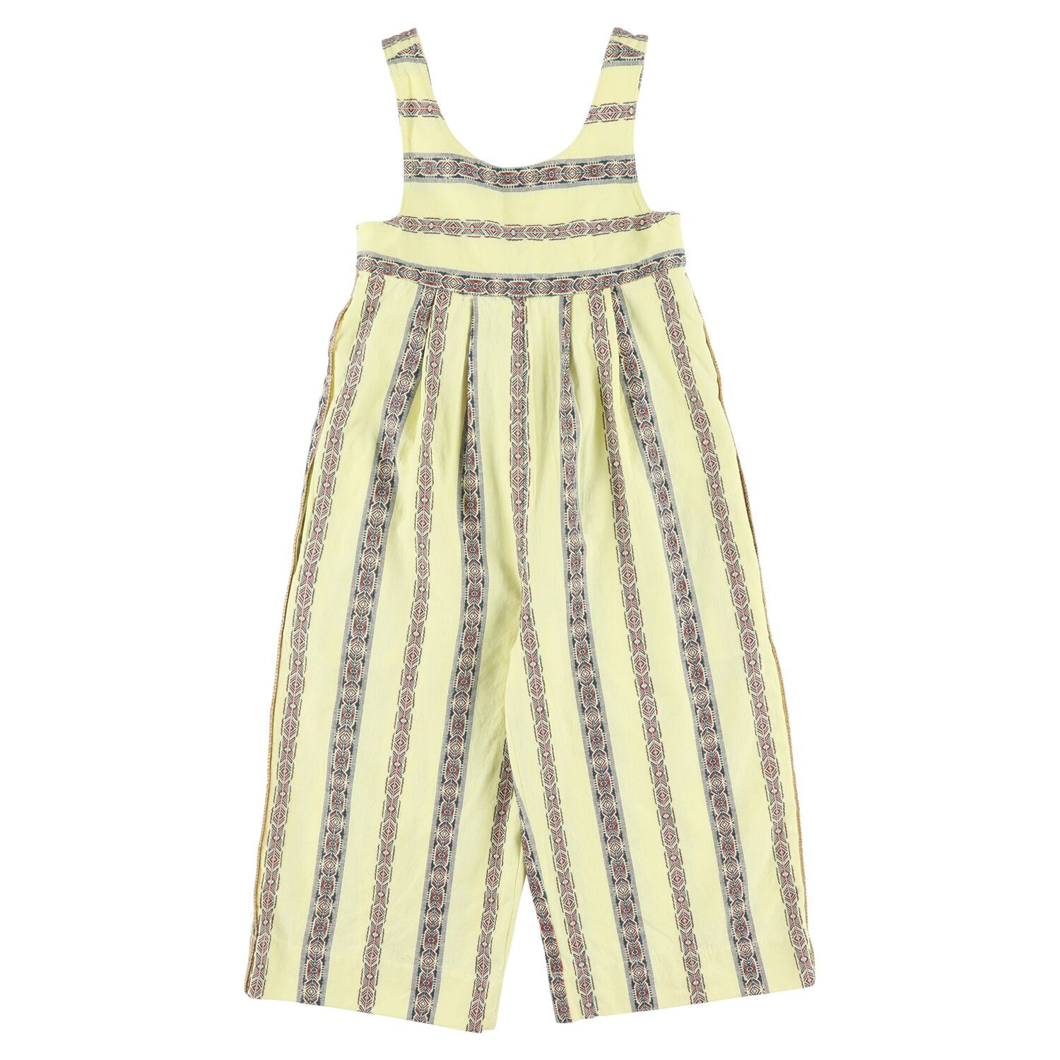 Jumpsuit Spring Yellow Simple Kids | Zirkuss