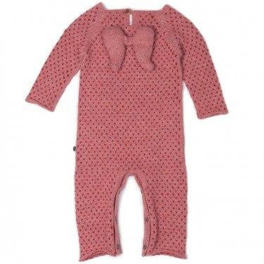 Pullover, Sweater - Oeuf Jumpsuit Angel Rose/Red Dots