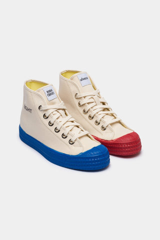 Blue and Red Womens Trainers Turtledove - Zirkuss