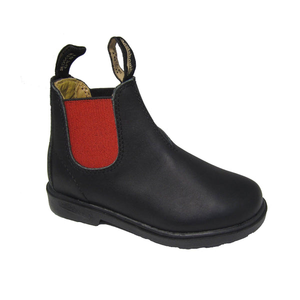 Schuhe, Shoes - Blundstone Shoes Leather Kids/Adults Black/Red