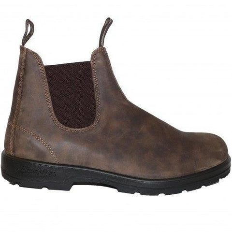 Blundstone Shoes Leather WOMAN Crazy Horse Brown Blundstone | Zirkuss