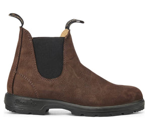 Schuhe, Shoes - Blundstone Shoes Leather WOMAN Nubuck Pebble