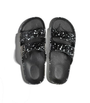 Moses Sandals Splatter Black Moses | Zirkuss