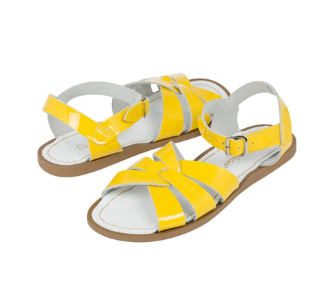 Salt-Water Original Yellow Saltwater Sandalen | Zirkuss