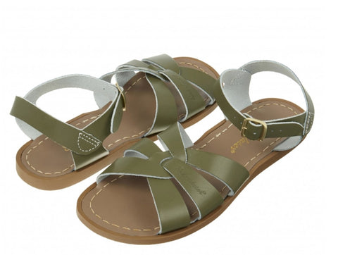 Salt-Water Sandals Original Olive Saltwater Sandalen | Zirkuss