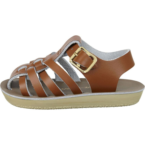 Salt-Water Sandals Sailor Child Tan - Zirkuss