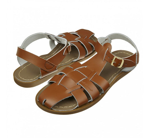 Schuhe, Shoes - Salt-Water Sandals Shark Tan