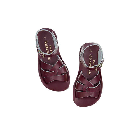 Salt-Water Sandals Swimmer Claret Saltwater Sandalen | Zirkuss