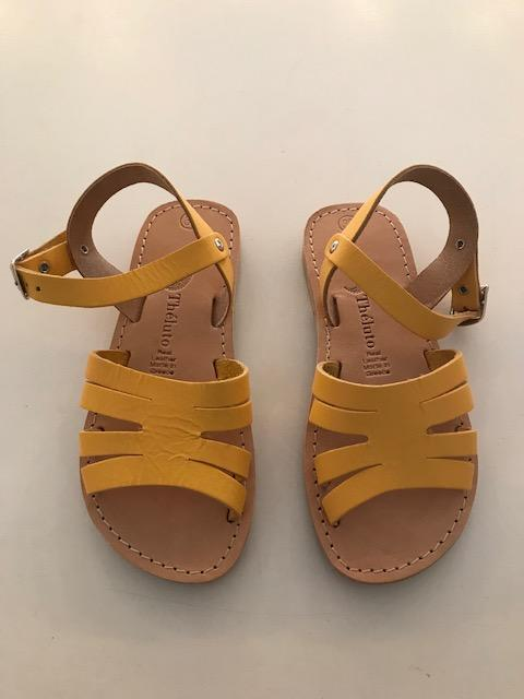 Schuhe, Shoes - Theluto Sandals Kids Alenior Gelb