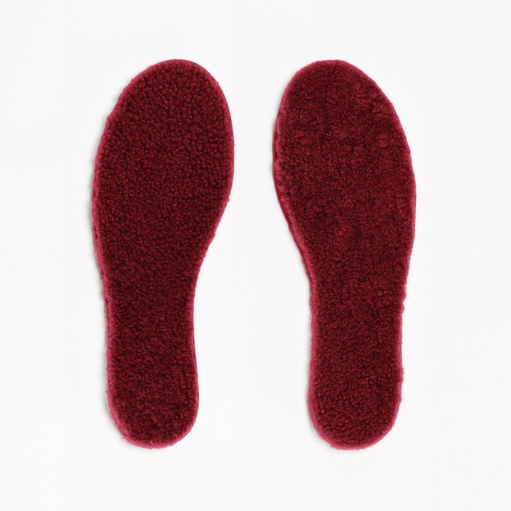 Insoles Sheepskin Woman Beetroot Toasties | Zirkuss