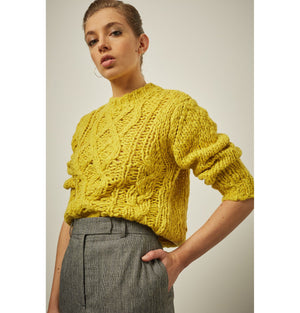 Sweater Ecole Yellow Soeur | Zirkuss