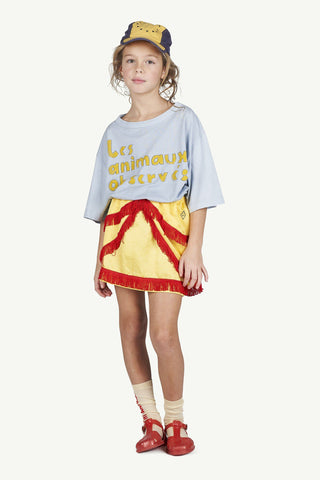 Bird Kids Skirt Yellow Logo - Zirkuss
