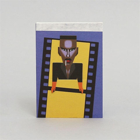 Pocket Sketchbook Grace Jones Noodoll *NEW* | Zirkuss