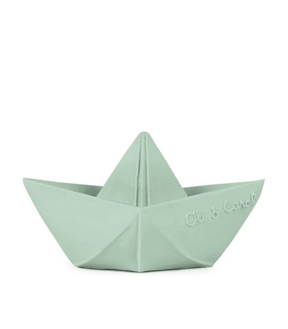 Spielsachen, Toys - Origami Boat Bath Toy Mint