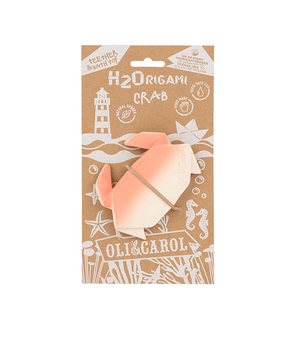 Teether and Bath Toy H2Origami Crab Oli&Carol | Zirkuss