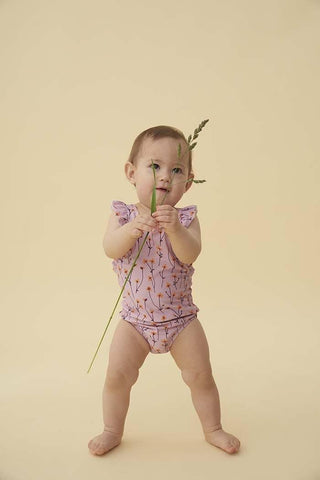 Baby Ana Swimsuit Dawn Pink AOP Buttercup Soft Gallery | Zirkuss