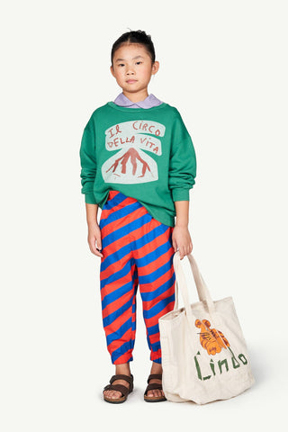Bear Kids Sweatshirt Green Circo - Zirkuss
