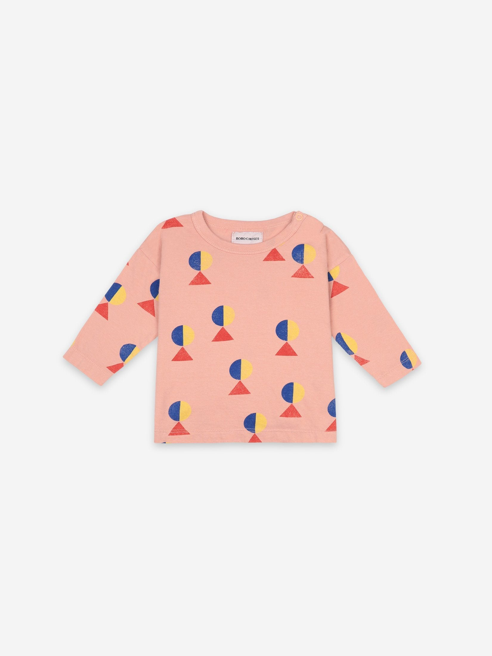 Geometric All over Long Sleeve T-Shirt - Zirkuss
