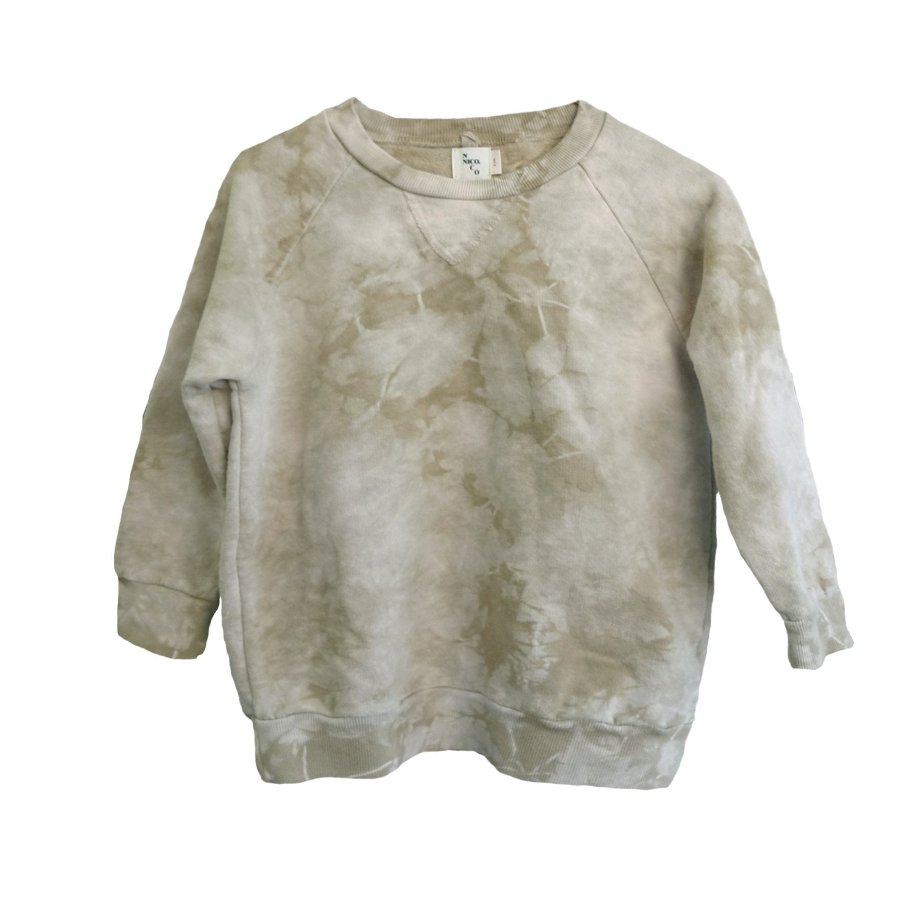Luc Pullover Brush Splash Dye - Zirkuss