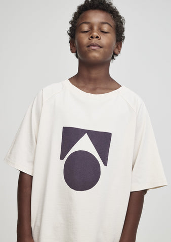Raglan Oversized Tee Birch Logo - Zirkuss
