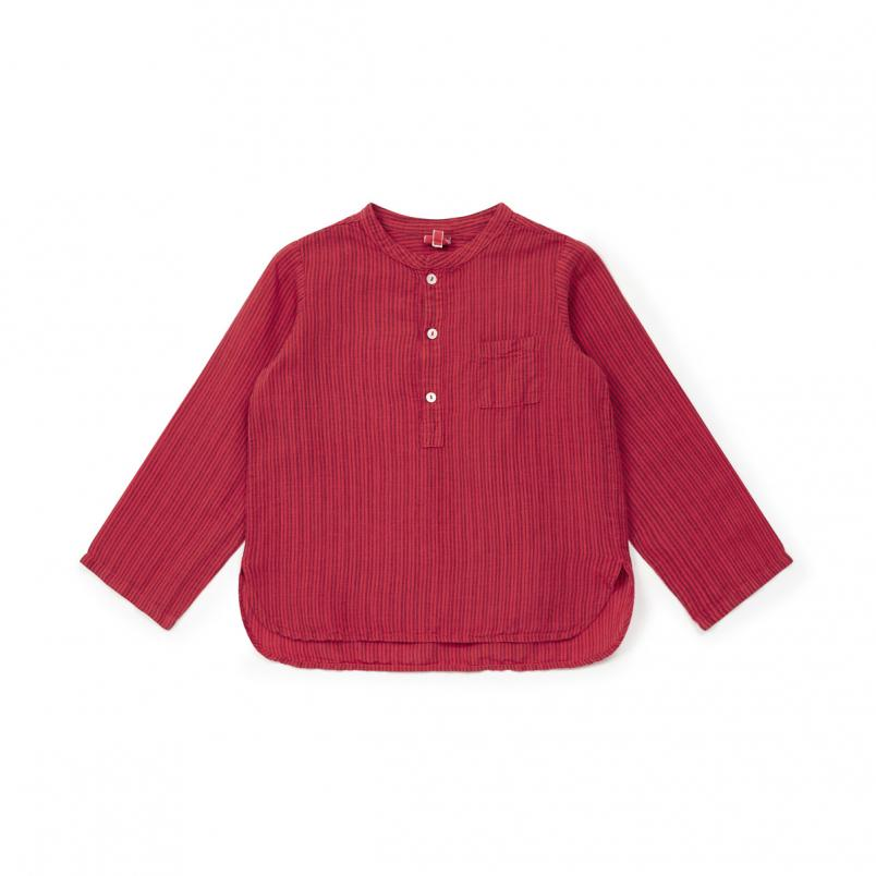 Shirt Matteo Lobster Red - Zirkuss