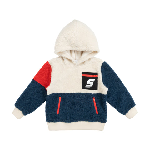 Teddy Bear Sweat Colorblock Stella McCartney Kids | Zirkuss