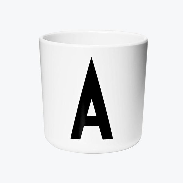 Und Mehr, And More - Design Letters & Friends Melamine Cup A-Z