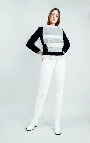 Woman - Pullover Woman Coco I Black/Grey