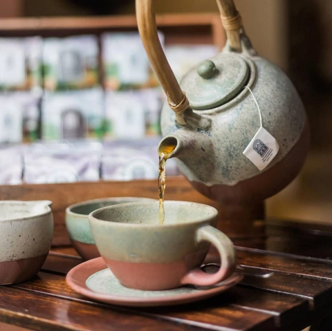 Dharmsala Teas at Amrapali House of Grace, a boutique hotel in Goa, India