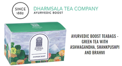 GREEN TEA WITH ASHWAGANDHA, SHANKPUSHPI AND BRAHMI