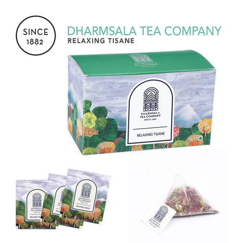RELAXING TISANE TEABAGS