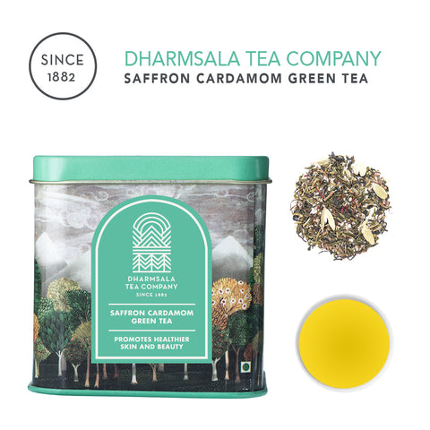 Saffron Cardamom Green Tea
