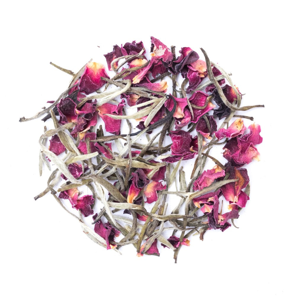 White Tea with Rose Petals