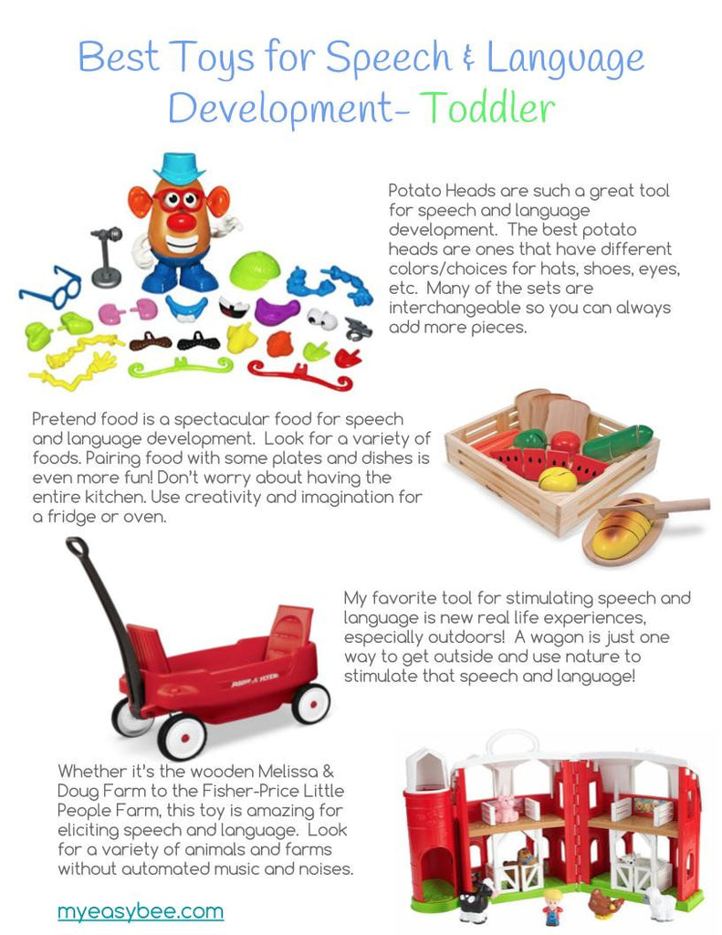 Best Toys for Speech and Language Development- Toddler