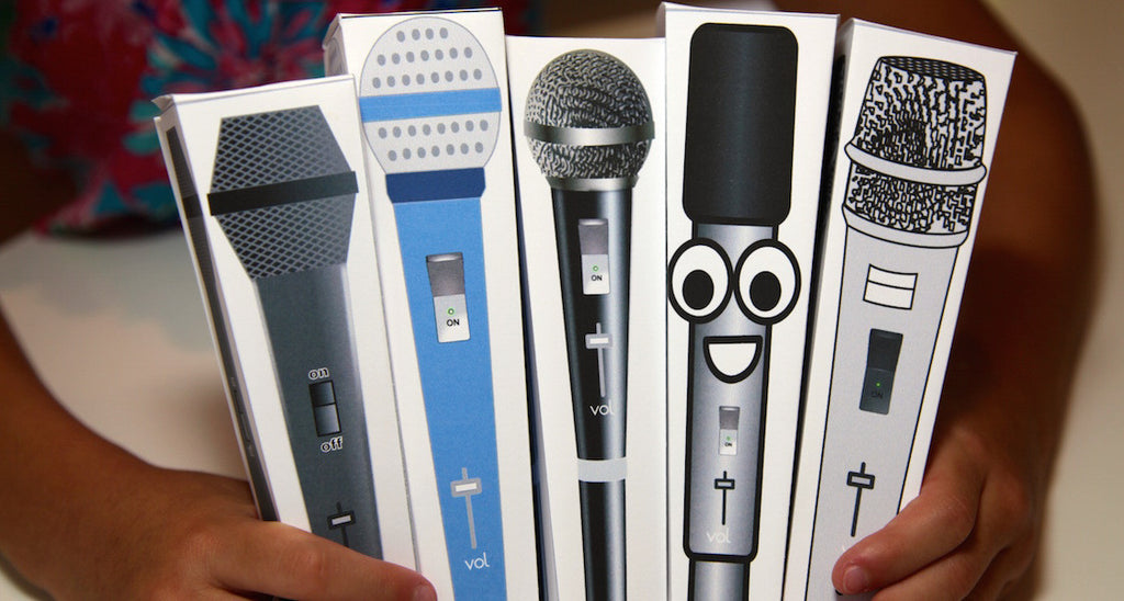 Paper Microphone- Face
