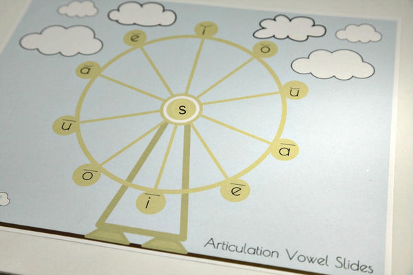Articulation Placemats - Ferris Wheel
