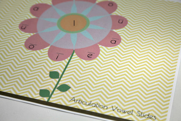Articulation Placemats - Flower