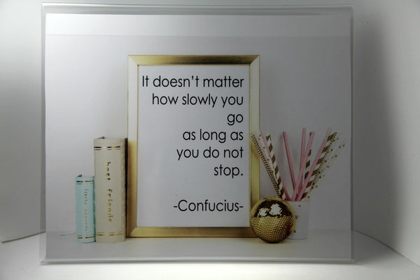 Confucius Quote - Printable Poster 8x10