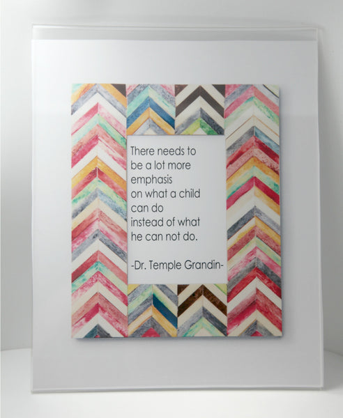 Temple Grandin Quote - Printable Poster 8x10