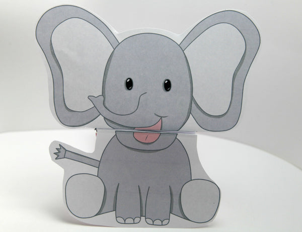 Elephant Talking Paper Puppet