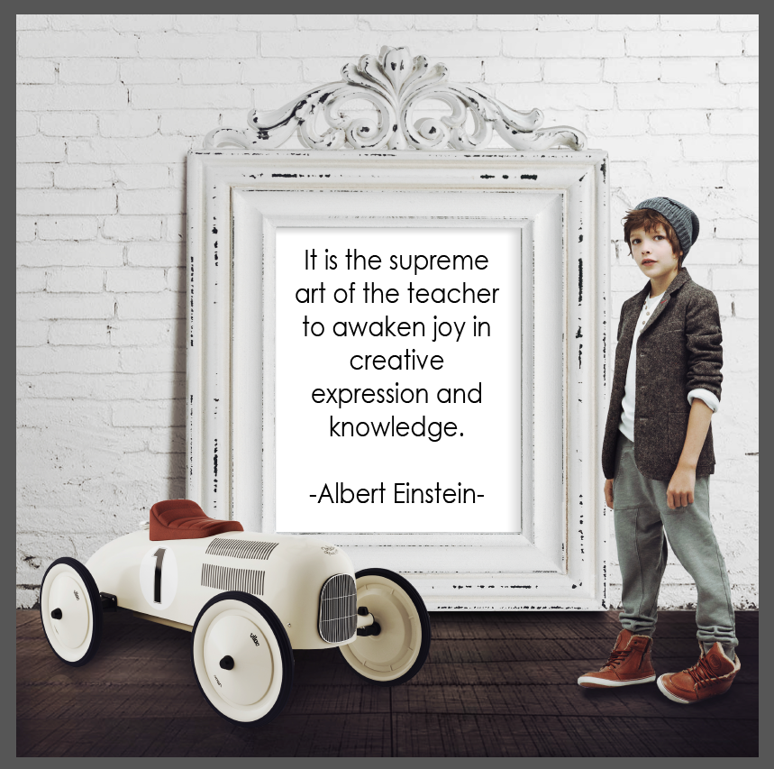 Albert Einstein Quote - Printable Poster 8x10