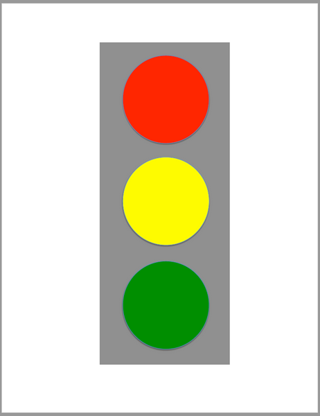 Printable Traffic Light FREEBIE