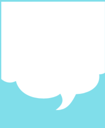Printable Notepad - speech bubble design