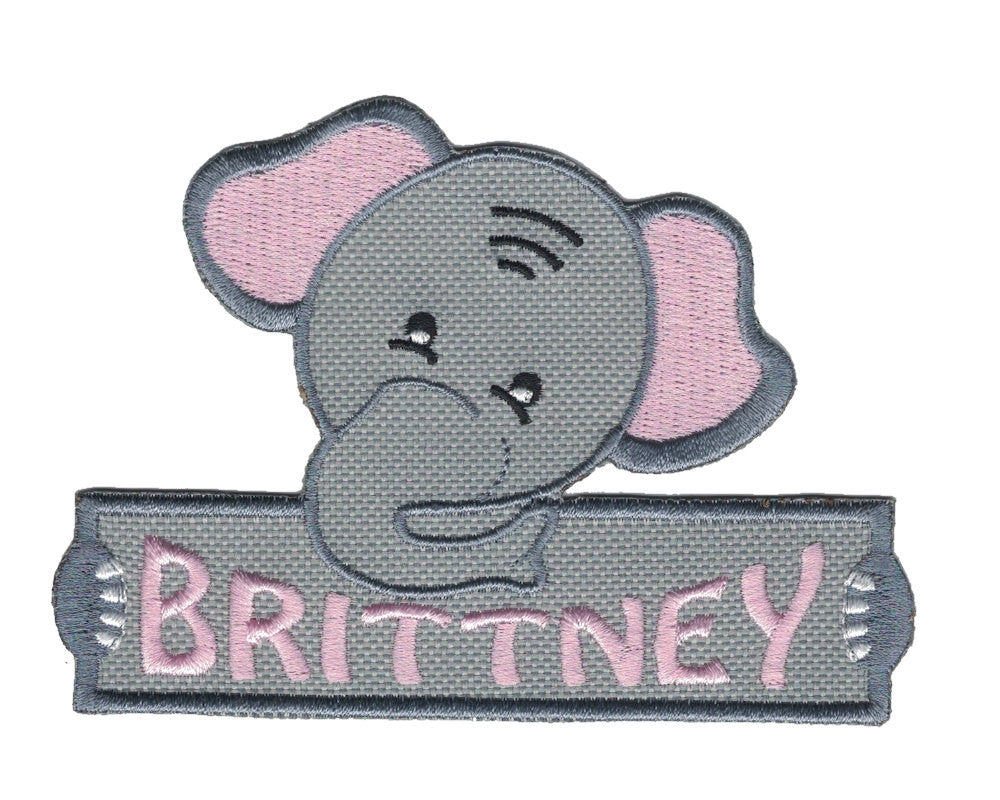 Choice of one of these personalized custom animals iron on