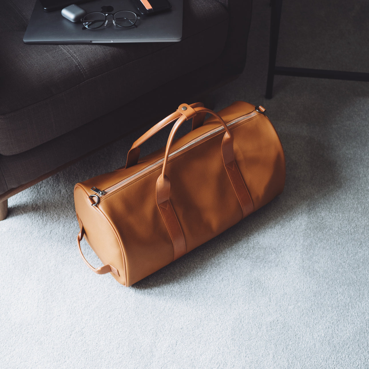 Leather Weekender - Brown