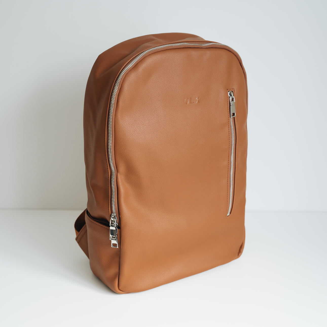 Leather Backpack - Brown