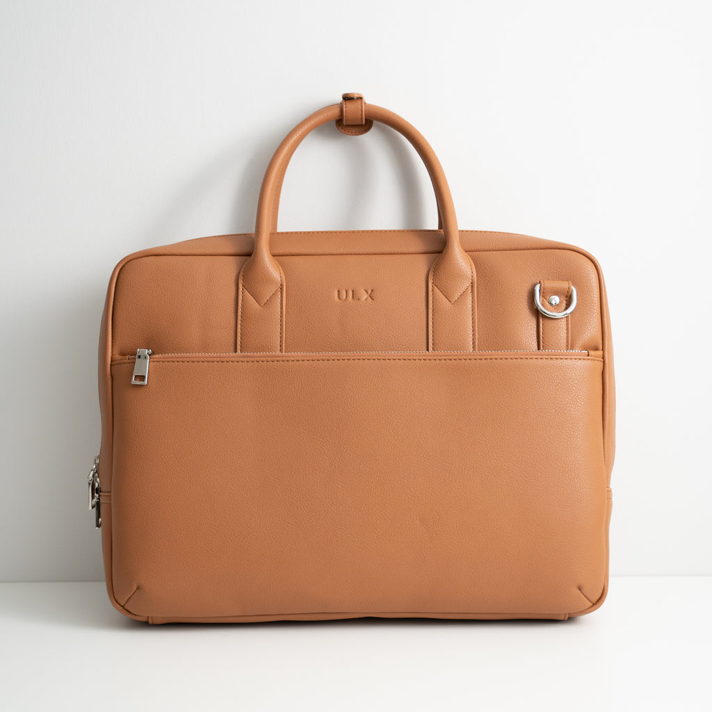 Commuter Briefcase - Brown